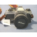 Nikon FG-20 Film Camera HR-4 Lens