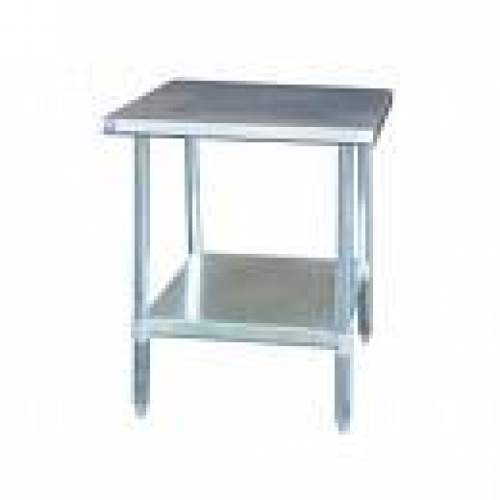 """Flip And Fold Rolling Table Stainless Steel Wood: 24"""" Stainless Steel Rolling Prep Table"""