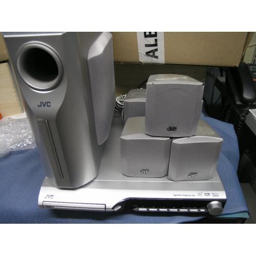 Jvc Dvd Player W 5 1 Surround Sound Speakers Th S11