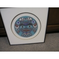16x16 Limited 24/500 Coastal Moon Print by Clarence Mills