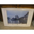 24 x 36 Print Paris Brass Frame