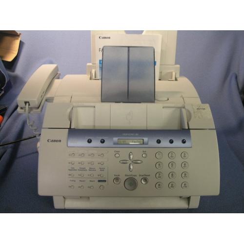 Canon printer FAXPHONE L80 User Manual