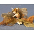 Sitting Fairy Ornament lot of 7
