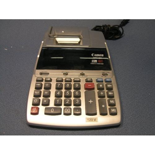 Canon Mp11 Dx Printing Calculalator Adding Machine