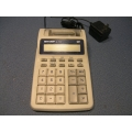 Sharp EL-1701C Printing Calculator adding machine
