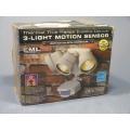 EML Thermal 3-Light Motion Sensor Outdoor Light