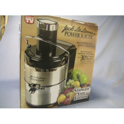 Jack LaLanne s Power Juicer Pro Stainless Steel - Allsold.ca - Buy & Sell Used Office Furniture ...