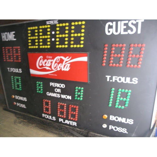 Kodiak 410a Coca Cola Branded Scoretec Basketball