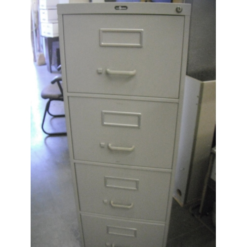 4 Drawer Vertical File Cabinet Legal Prosource Beige