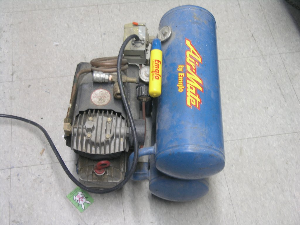 Airmate Emglo 1 1 2 Hp Electric Air Compressor Allsold