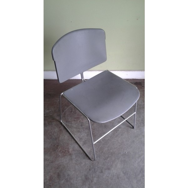 Steelcase Max Stacker Stacking Hard Plastic Chair W No