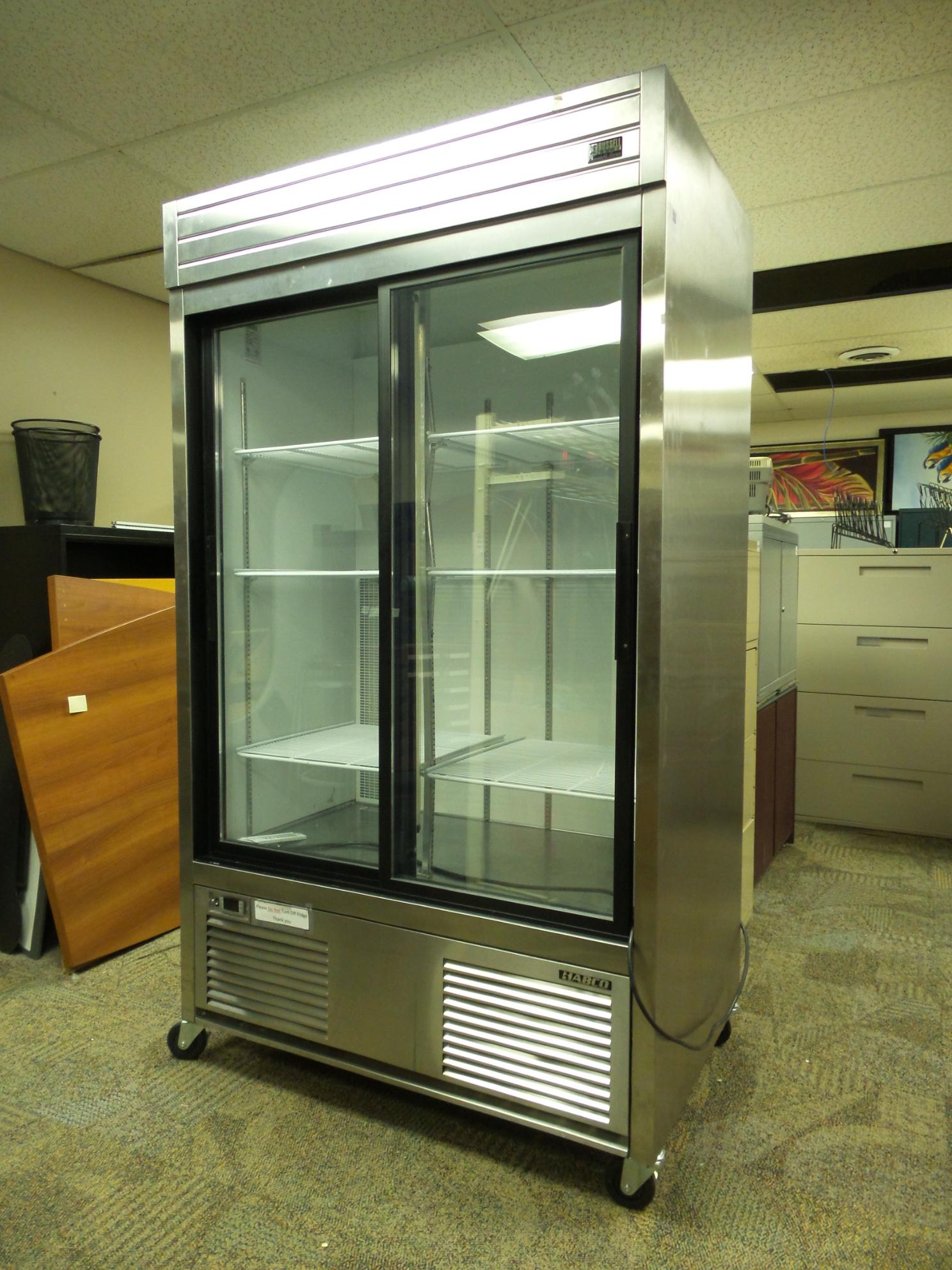 Habco 42 Cu Ft Stainless Restaurant Refrigerator Fridge