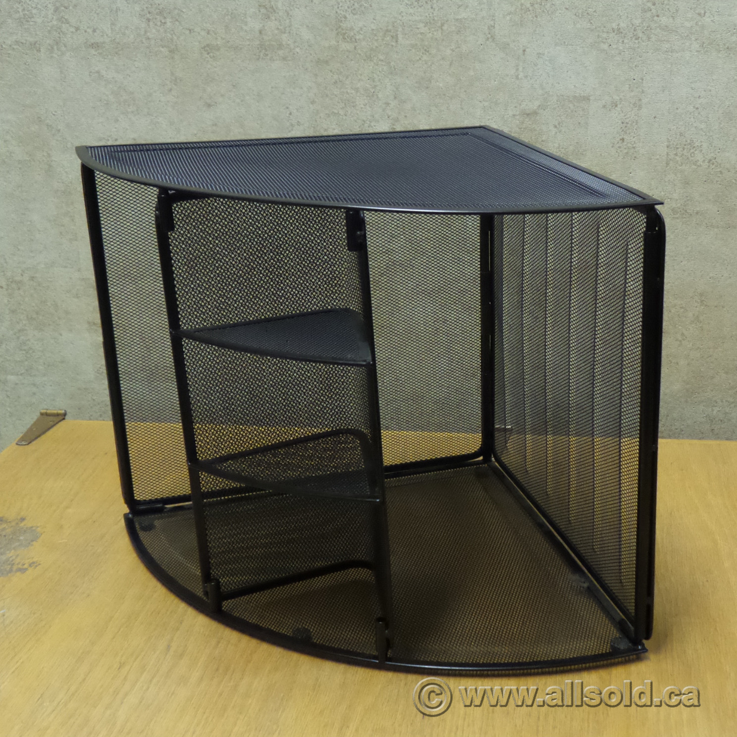 Rolodex black mesh unique corner desk organizer allsold - Black mesh desk organizer ...