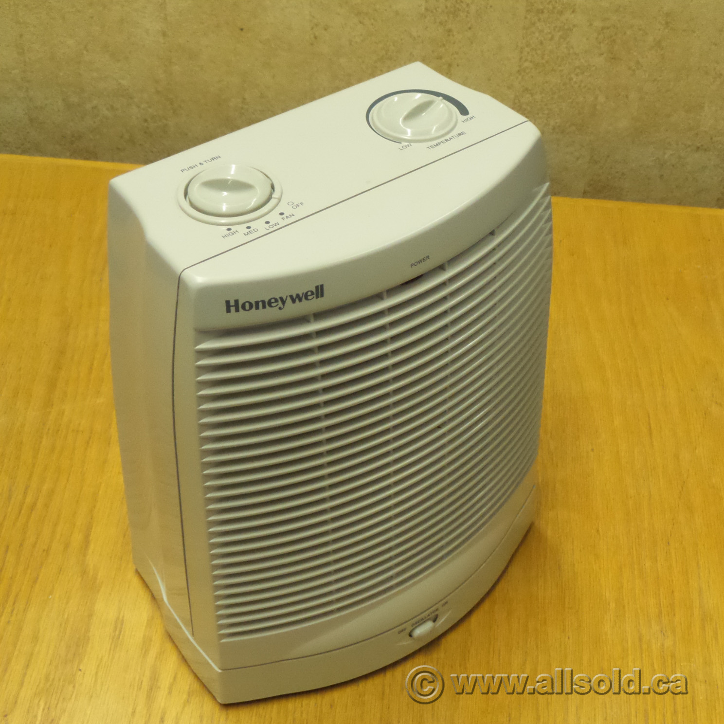 Honeywell Hz2300 1500w Oscillating Fan Space Heater