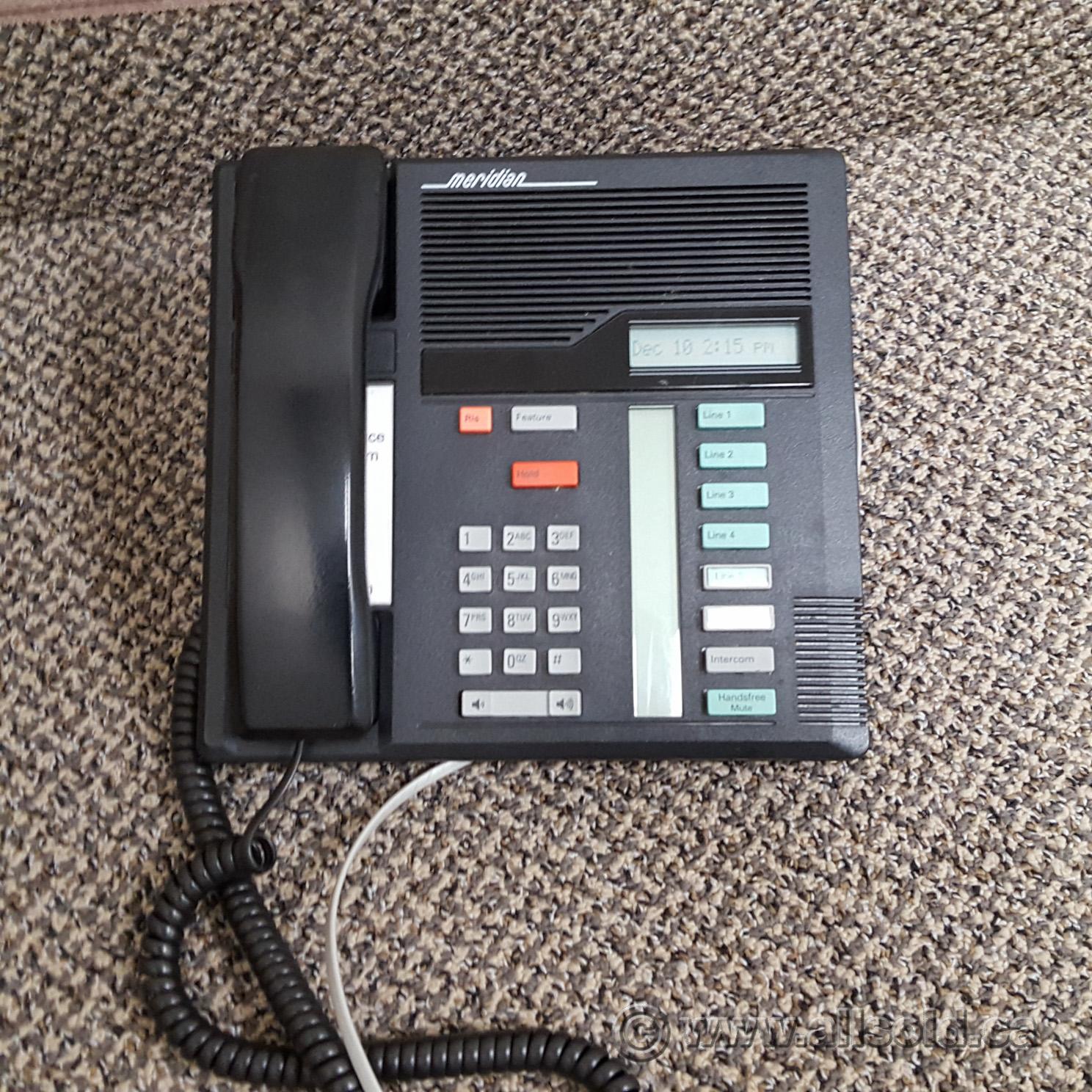 Nortel Meridian M7208 Black Multi Line Business Phone