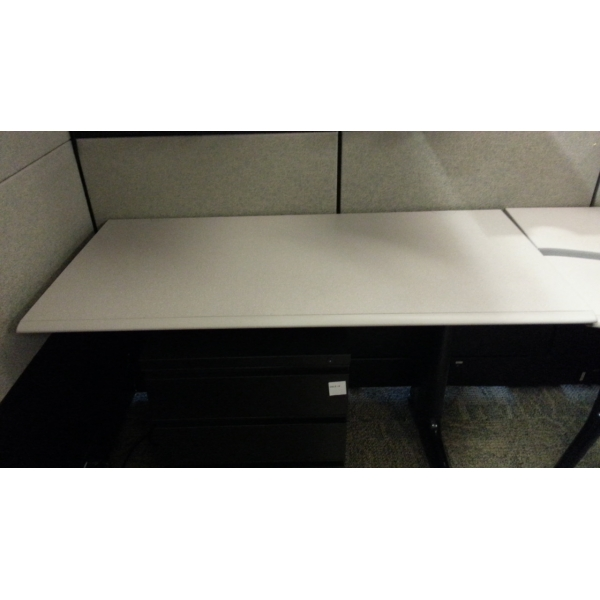 Herman Miller Run Off For Adjustable Corner Sit Stand Desk