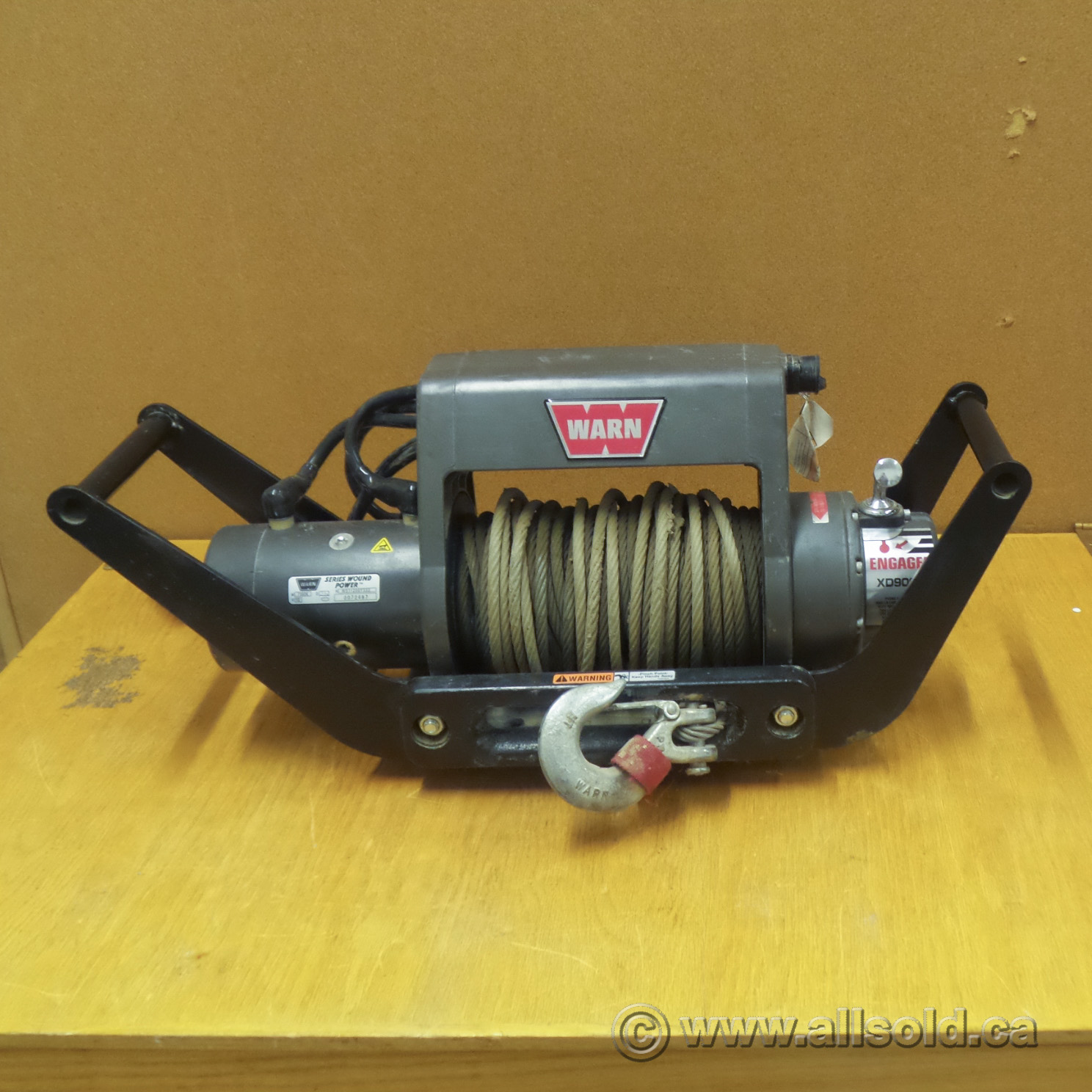 Warn Xd9000i Series Wound Multi Mount 9000 Lb Power Winch