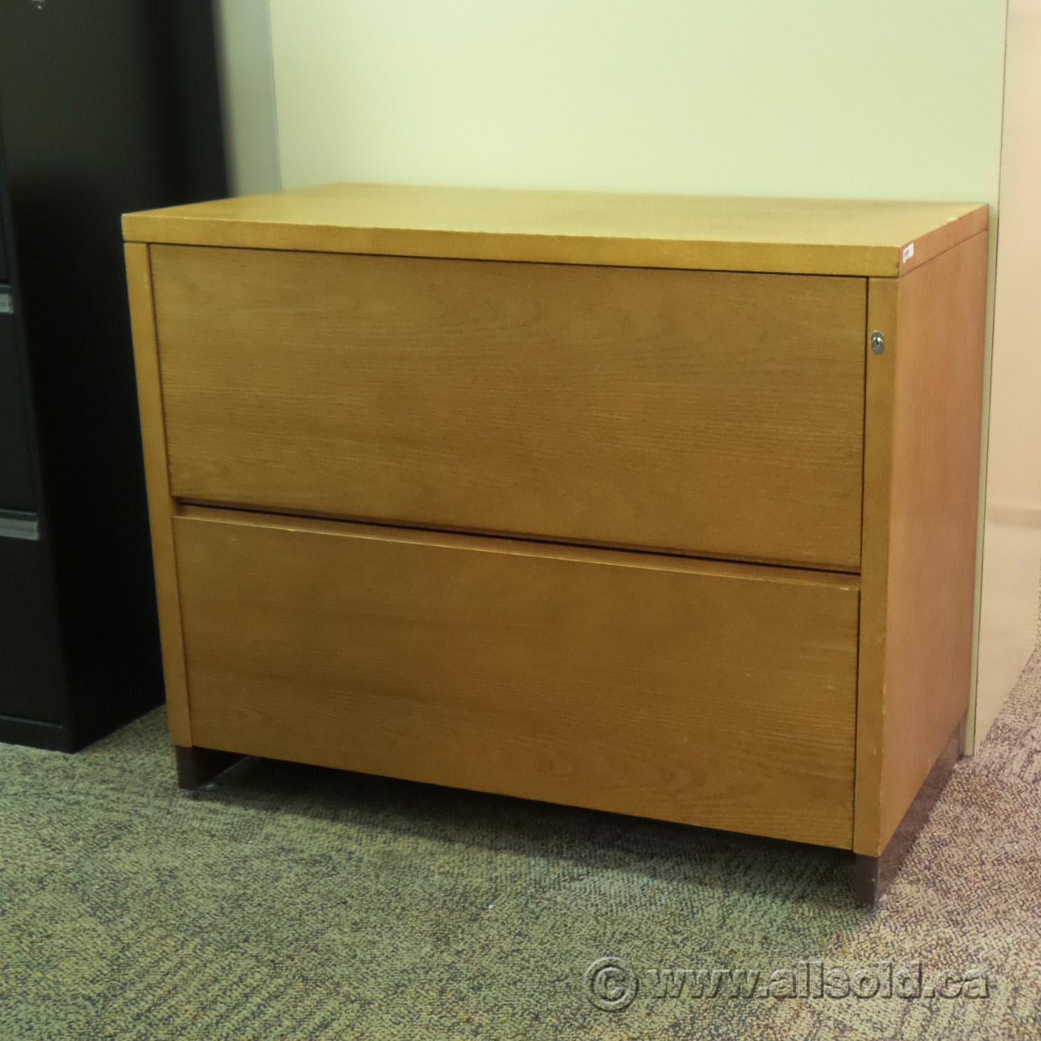 medium oak 2 drawer lateral file cabinet locking. Black Bedroom Furniture Sets. Home Design Ideas