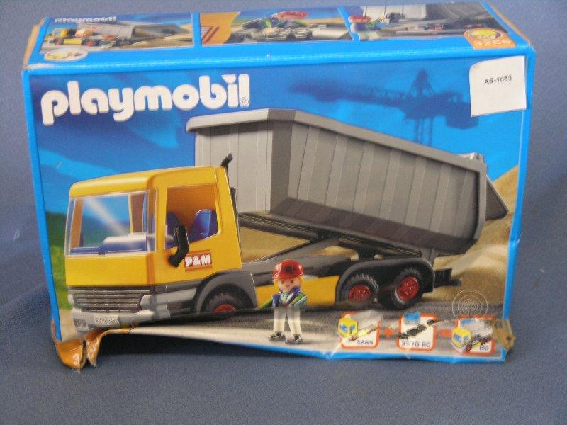 Toys For Trucks Calgary : Playmobil dump truck construction set allsold