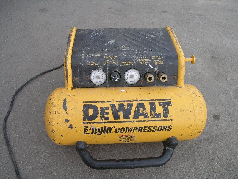 Dewalt Emglo Portable Air Compressor 1 2 Hp Allsold Ca